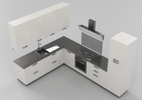 modelli 3d arredo cucina acca software