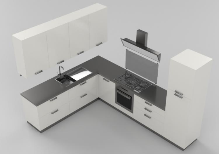 cucine 3d cucina completa di elettrodomestici acca On software cucine 3d