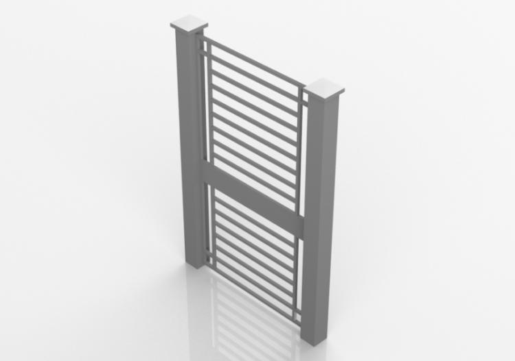 nuovo stile donna 100% di alta qualità Accessori 3D - CANCELLO ingresso scala - ACCA software
