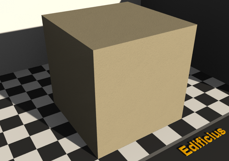 Sponged plaster Texture - Gray yellow - ACCA software