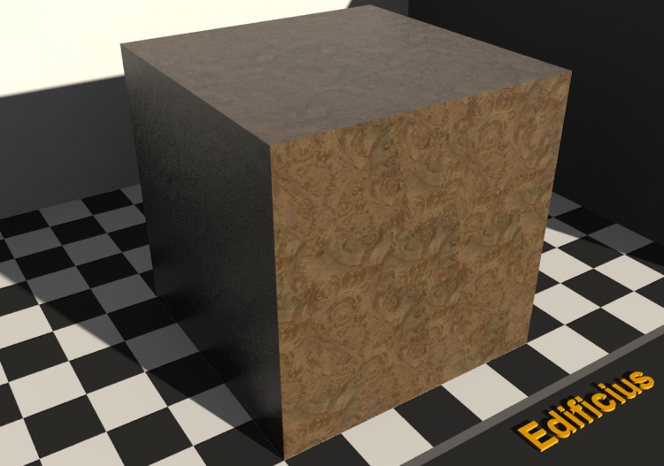 Wood Texture - Maple (rooted) - ACCA software