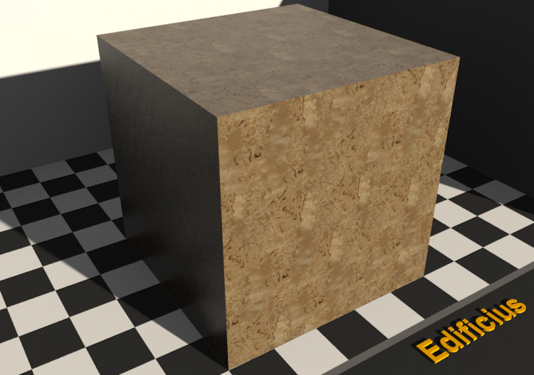 Wood Texture - Birch (rooted) - ACCA software