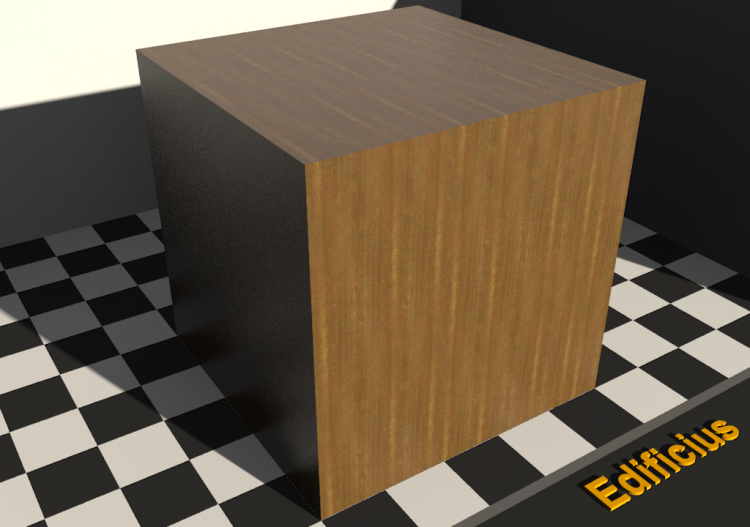 Wood Texture - Citronnier - ACCA software