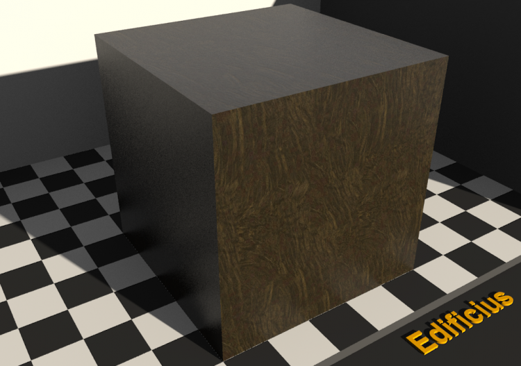 Wood Texture - Imbuia (rooted) - ACCA software