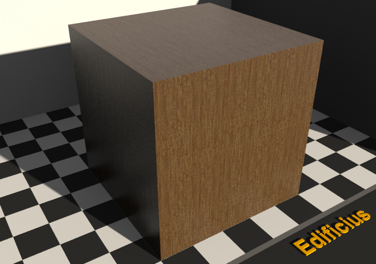 Wood Texture - Lauan rouge - ACCA software