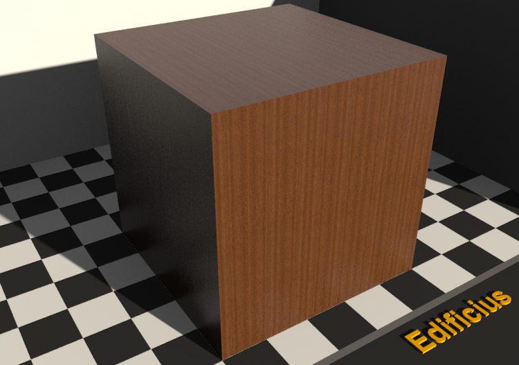 Wood Texture - Moabi - ACCA software