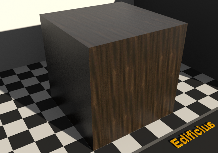 Wood Texture - Mahogany Feather - ACCA software