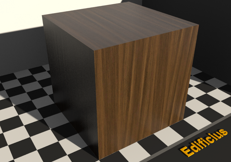 Wood Texture - Noyer bicolore - ACCA software