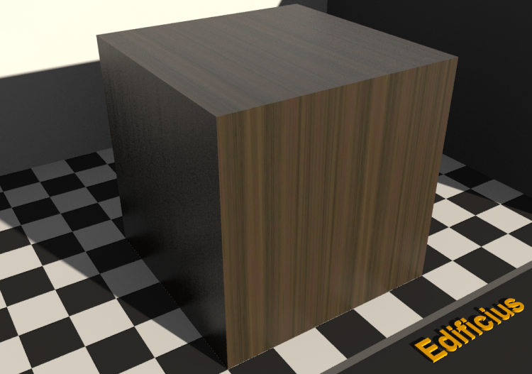 Wood Texture - Noyer rigole - ACCA software