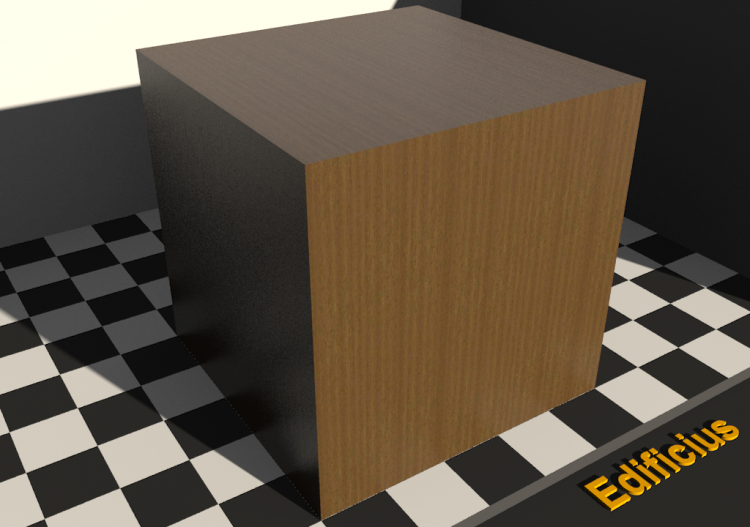 Wood Texture - Obeche - ACCA software