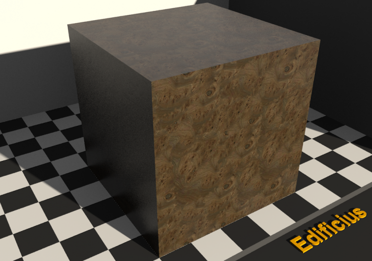 Wood Texture - Olmo (rooted) - ACCA software