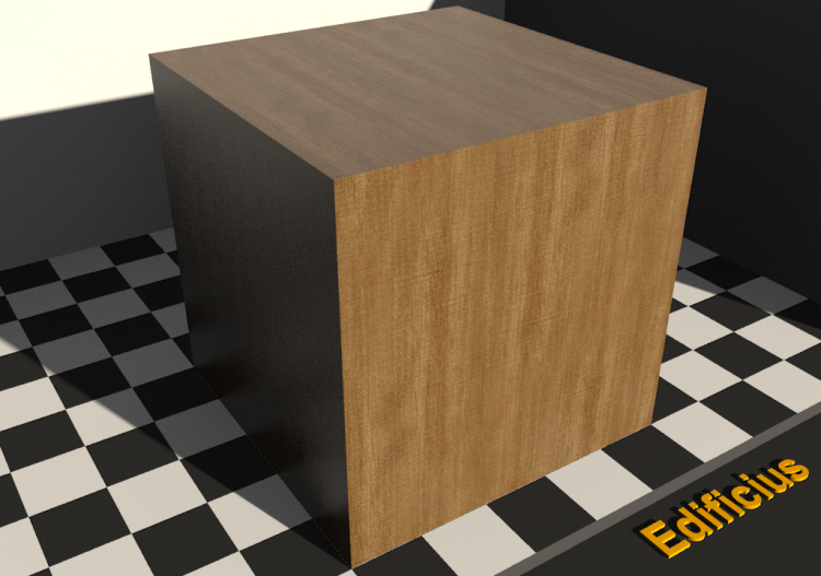 Wood Texture - Aulne - ACCA software