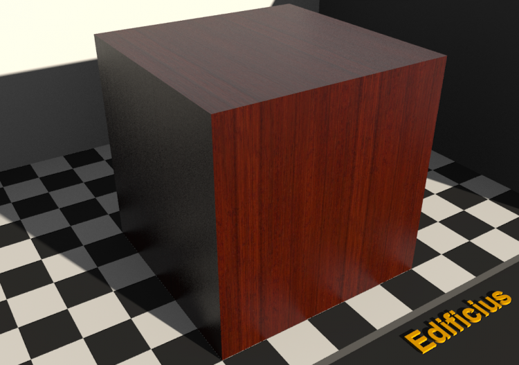 Wood Texture - Padouk - ACCA software