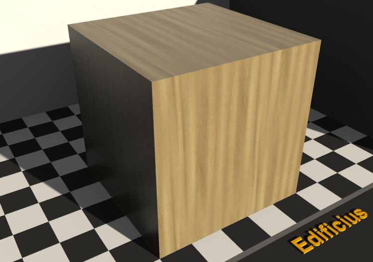 Wood Texture - Poplar - ACCA software