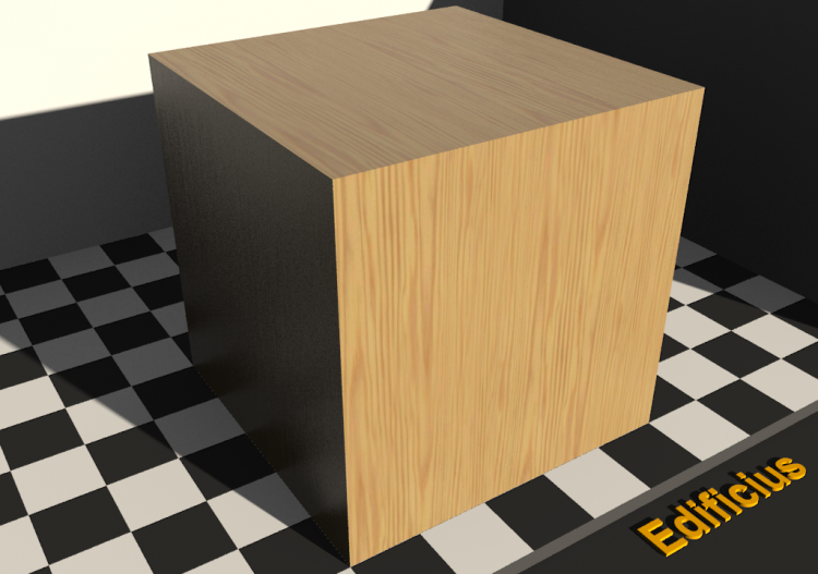 Wood Texture - Pitch pine - ACCA software