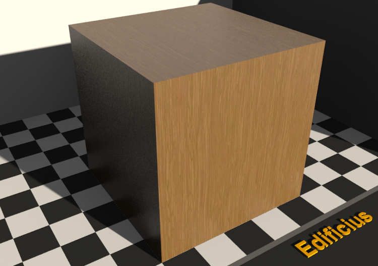 Wood Texture - Durmast - ACCA software