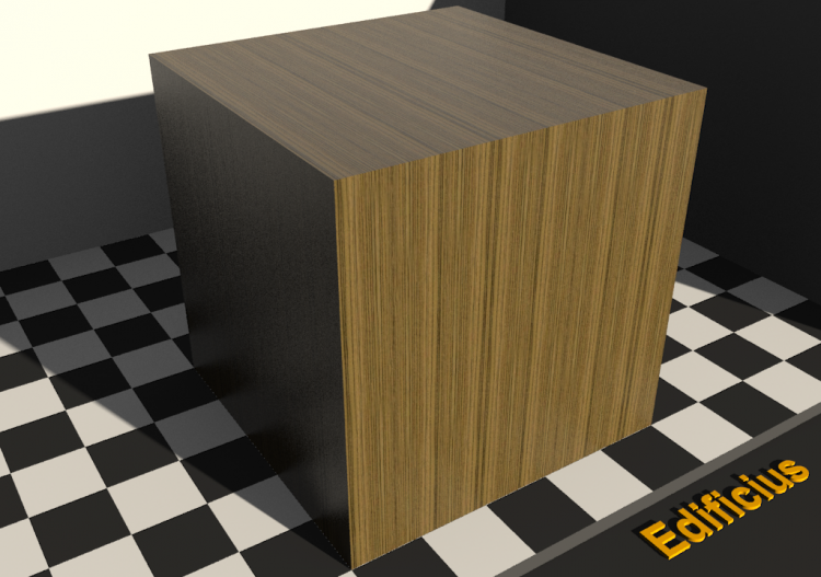 Wood Texture - Zebrano - ACCA software