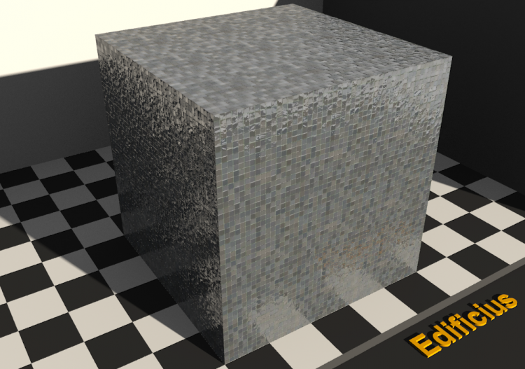 Mosaic Texture - Anthracite gray - ACCA software