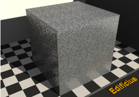 Mosaic Texture - Anthracite gray