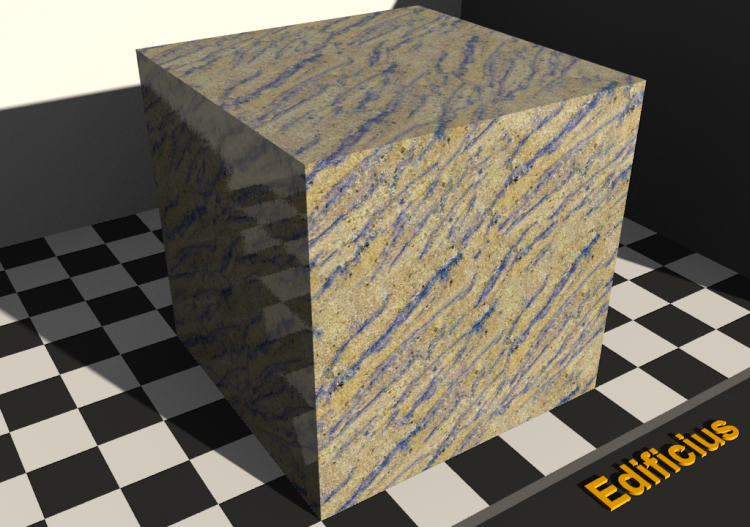 Granite Texture - Azul macauba - ACCA software
