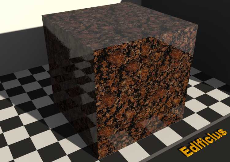 Granite Texture - Baltic brown - ACCA software