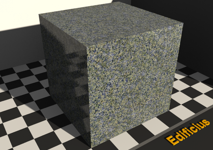 Texture granit - Blue king - ACCA software