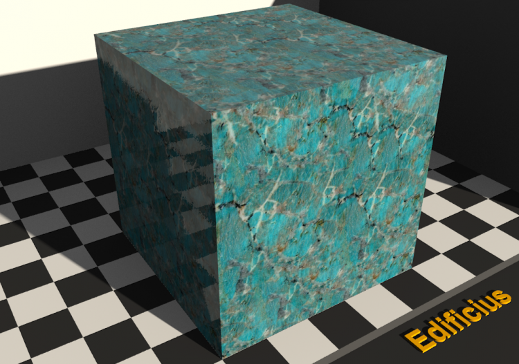 Marble Texture - Amazonite - ACCA software