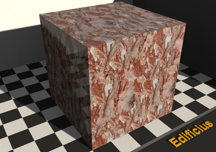 Marble Texture - Arabesque orobic red - ACCA software