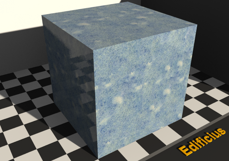 Marble Texture - Azul sky - ACCA software
