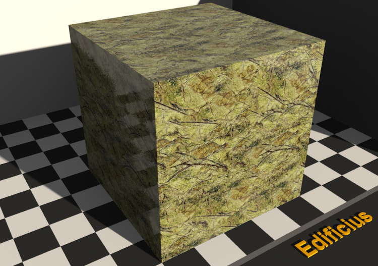 Marble Texture - Rain forest green - ACCA software