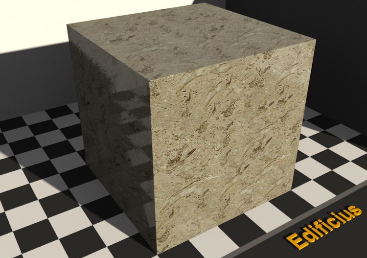 Stone Textures - Ausina fleurie - ACCA software