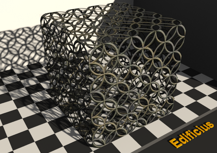 Fencing Textures - Grating (02) - ACCA software