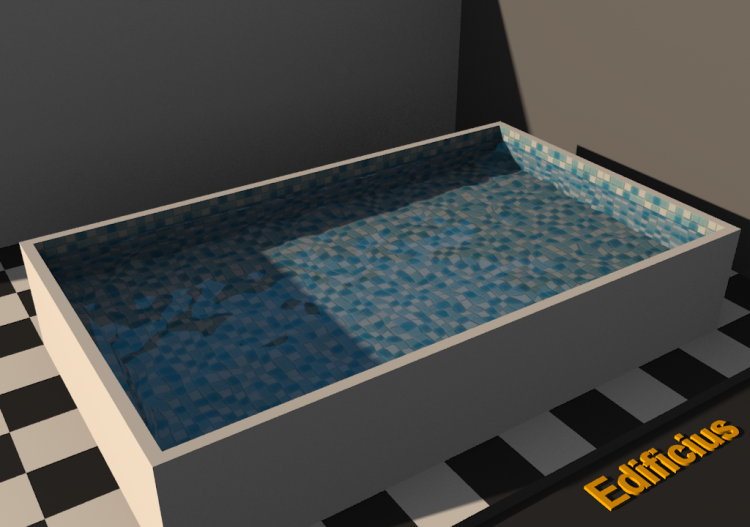 Water Texture - Swimming Pools - ACCA software