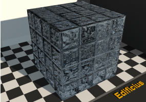 Glass Block Textures - Arrondi [JF] Jaune