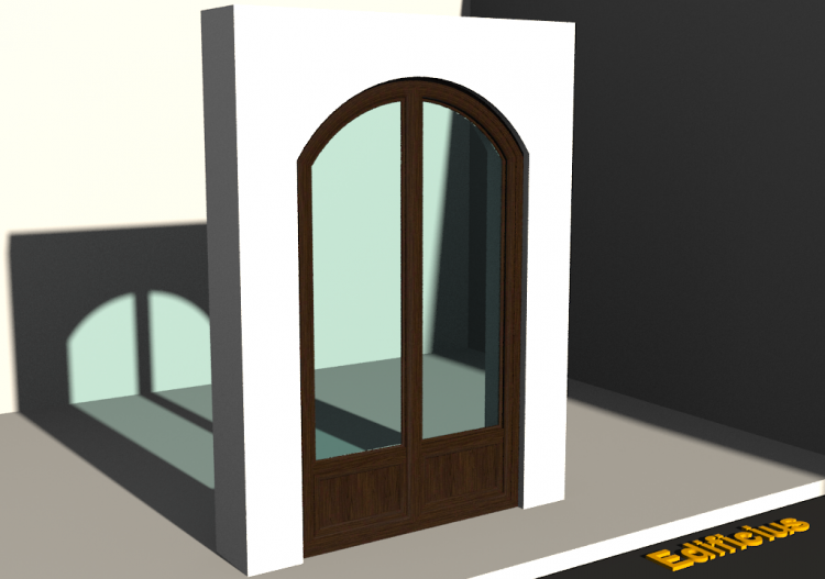3D Tür/Fenster - FN[AR] 1AB[1P]+1F[1P] - ACCA software