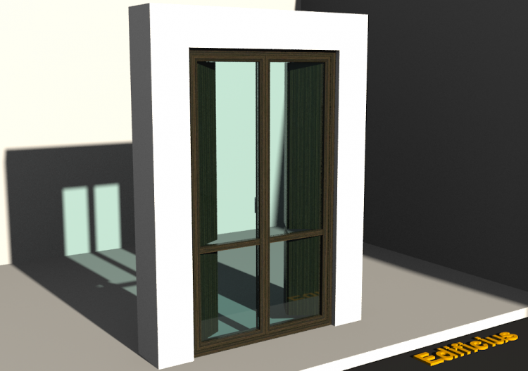 3D Tür/Fenster - FN[R] 2AB[1D] MM + SCR - ACCA software