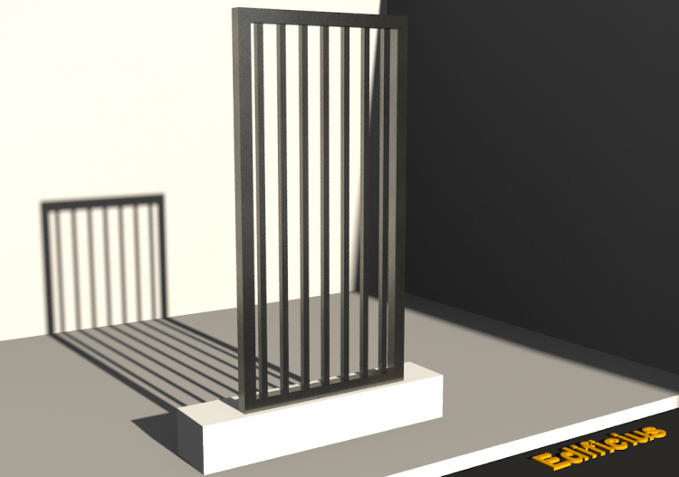 3D Gate - Panel [R] 1F[GV] - ACCA software