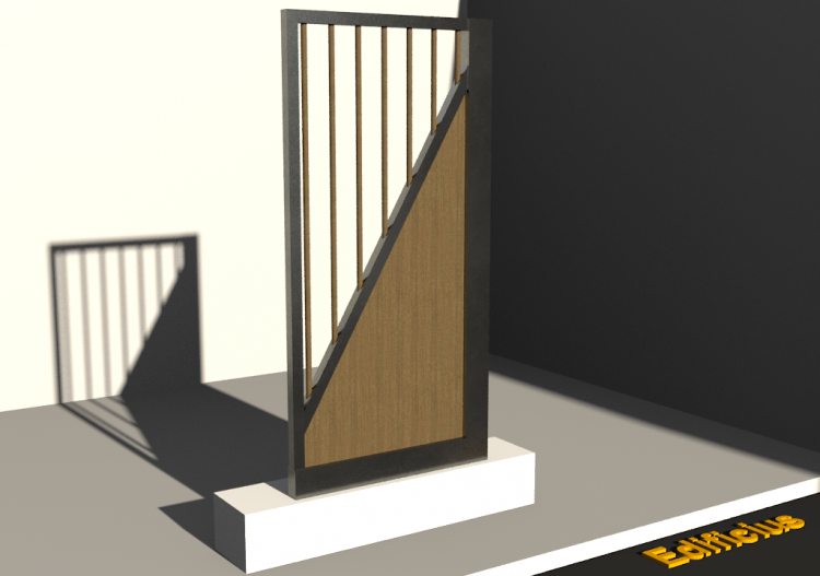 3D Gate - Panel [R] 1F[PDGV] - ACCA software
