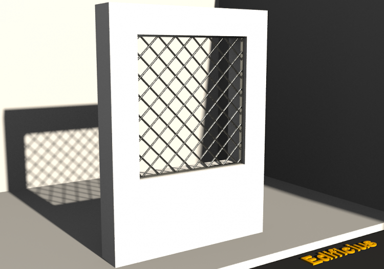 3D Grating - Grille [R] BC[R] - ACCA software
