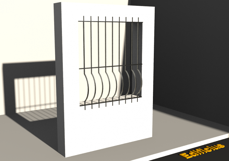 3D Grating - Grille [F] Courbe - ACCA software
