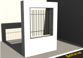 3D Grating - Grille [DP] Courbe