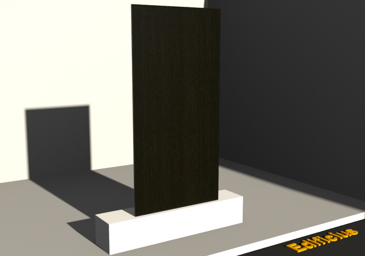 Panel 3D - Panel [R] Wenge - ACCA software