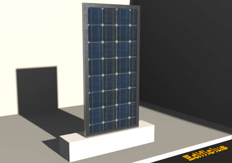 Solar PV Panel (03) - ACCA software