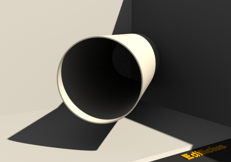 3D Drain Pipe - Drain Pipe [R] Ø70mm - ACCA software