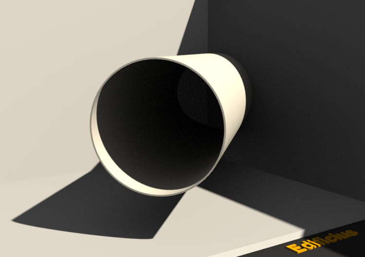3D Drain Pipe - Drain Pipe [R] Ø80mm - ACCA software