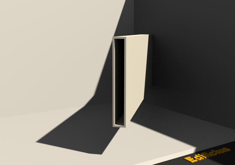 Perfil 3D - Perfil [RH]15x100c2mm - ACCA software
