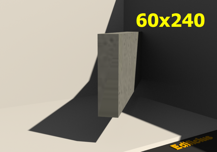 3D Sections - 60x240 - ACCA software