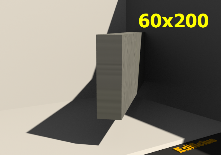 3D Sections - 60x200 - ACCA software