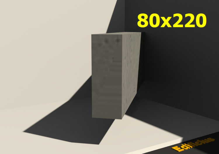 3D Schnitte - 80x220 - ACCA software