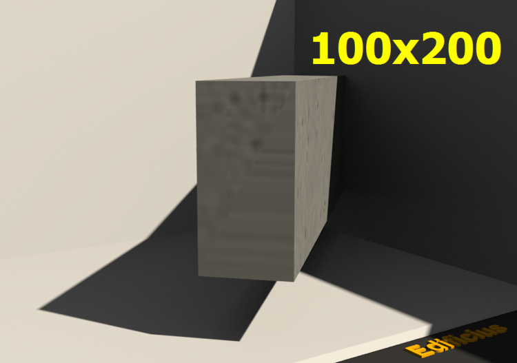 3D Sections - 100x200 - ACCA software